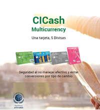 Nueva tarjeta CI Cash Multicurrency