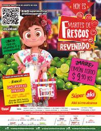 MARTES DE FRESCOS