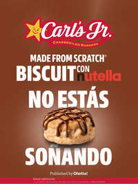 Biscuit con Nutella