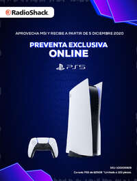 PS5 Preventa exclusiva online