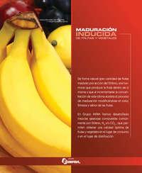 Maduración inducida de frutas y vegetales