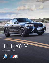 BMW X6 M Competition 2021