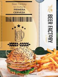 Beer Factory te invita la primera cerveza