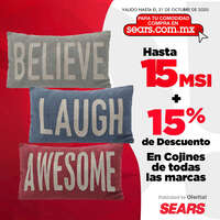 Sears Cojines