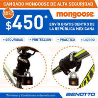 Candado mongoose