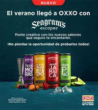 Seagrams llegó a oxxo
