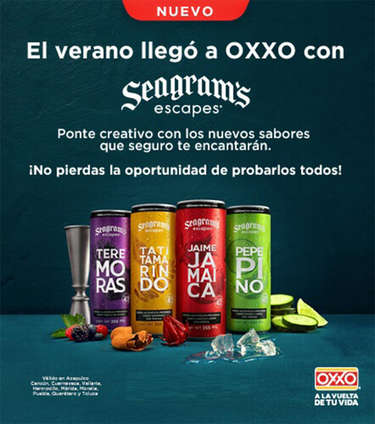 Seagrams llegó a oxxo- Page 1
