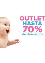 70% descuento bebe
