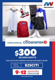 Venta especial Citibanamex x Innovasport
