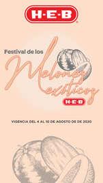 FESTIVAL DE LOS MELONES EXÓTICOS