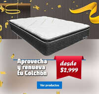 Renueva tu colchón