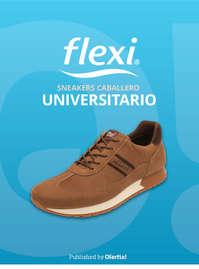 Caballero Sneakers Universitario