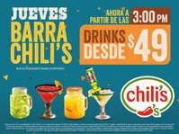 Jueves Barra Chili's