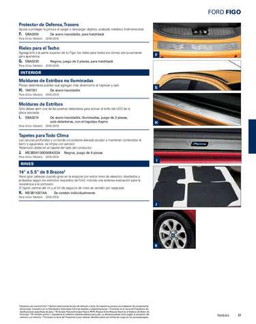 Ford figo accesorios- Page 1