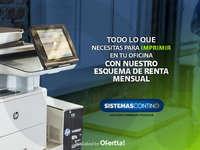Impresión - Esquema de renta mensual