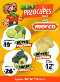 No te preocupes, ven a Merco - MVA
