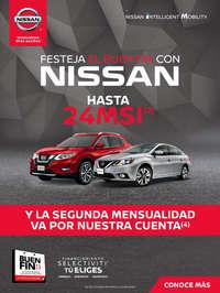 Festeja el Buen Fin con Nissan