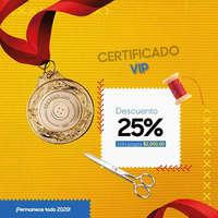 Certificado VIP