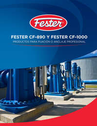 Fester CF-890 y Fester CF-1000