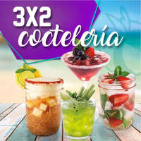 3x2 cocteleria y cerveza