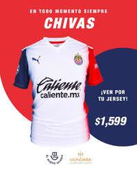 Playera del Chivas