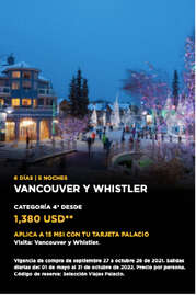Vancouver y Whistler