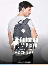 #ctdsg# CuidadoConElPerro RegresoClases Mochilas Hombre