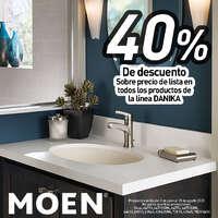 40% de descuento que tenemos en la línea Danika
