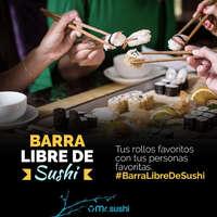 Barra libre de sushi
