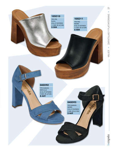 Catálogo Incógnita Calzado Mujer Otoño Invierno 2019- Page 1