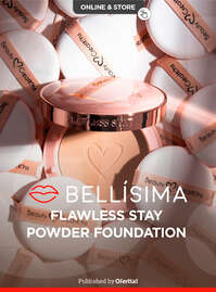 Flawless stay powder