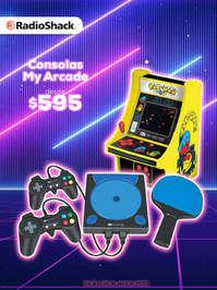 Consolas My Arcade