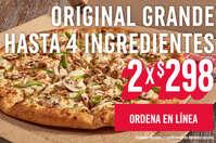 Original grande 2x$298