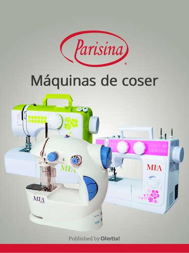 Máquinas de coser- Page 1