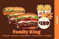 Disfruta ahorrando con el Family King