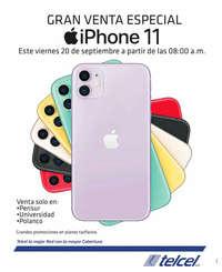 Gran venta especial iPhone 11