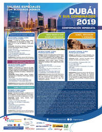 Dubai y sus combinados 2019