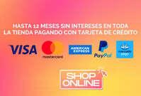 12 MSI con tarjeta de crédito