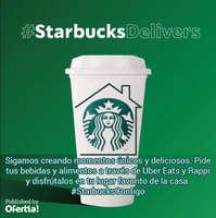 #StarbucksDelivers
