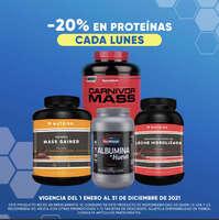 -20% en proteinas