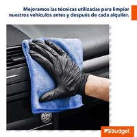 Los autos están recibiendo las medidas de limpieza adecuadas
