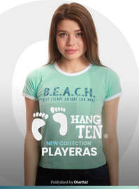 New Collection Playeras Mujer