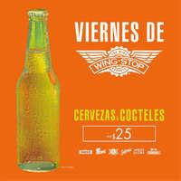 Viernes de Cervezas & Cocteles