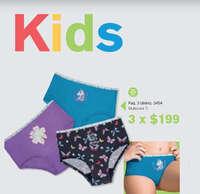 Paquete de 3 bikinis Kids