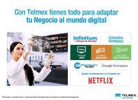 Con Telmex tienes todo