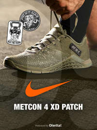Nike Metcon 4 XD Patch