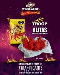 Alitas con Cheetos® Xtra Flamin' Hot®