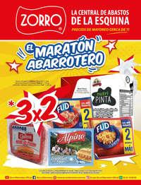 Maratón abarrotero