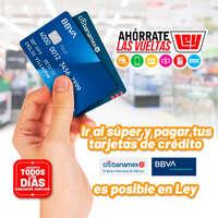 Paga tus tarjetas de crédito