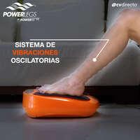 ¡Disfruta de un delicioso masaje vibratorio con Power Legs!